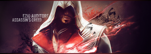 Ezio Auditore  Brotherhood sig by Seiikya