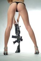 ass and gun IV by flymen-studio