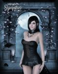 On a Pale Moonlight by Carfaxdesign