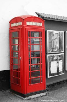 Popped Phone Box by snappy-dave