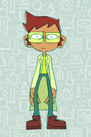 Curry the Cursed Spectrologist by GreenMangos