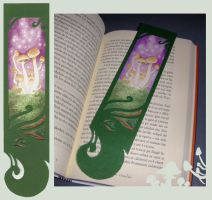 Shrooms bookmark by GreenSprite