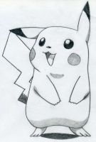 Pikachu Draw... by lauralou206