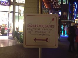 Saving Mr. Banks Sign by firegirl1995