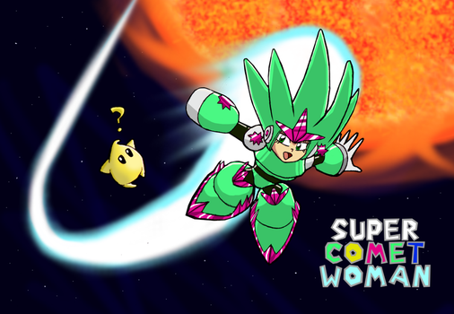 Super Comet Woman by SpoonyBardOL