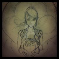 Samus Sketch by Alonzo-Canto