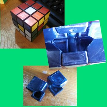 Cool 1980's rubik's cube by michael123425