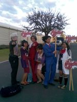 Phoenix Wright Group by ray-dnt