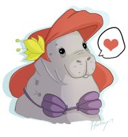 The Little Manatee by S-Harkey