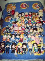 Anime plush collection update by animelover2day