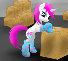 Glimmerlight in socks by JetWave