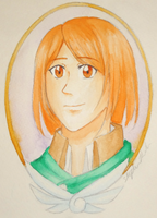 Petra Ral- Watercolor by ChaosSoda