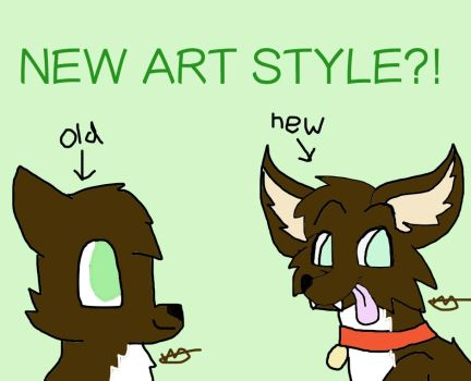 New Art Style!!!!!!!!! by simple-tomato