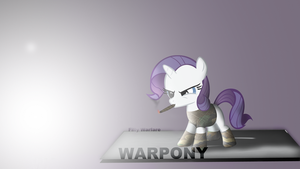 WarPONY - Filly Warfare by Elalition