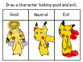 morality meme- Noelia pikachu version by TailTehEeveelution
