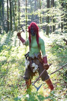 New Troll Here! - Warcraft - Horde Cosplay by Carancerth
