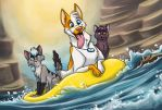 River Rafting by Greykitty