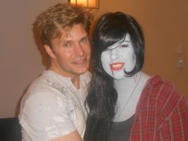 Anime Mid-Atlantic 2013 Vic Mignogna And I by boo-boo8
