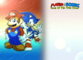 Mario and Sonic Dawn of the True Power Prologue by KingAsylus91