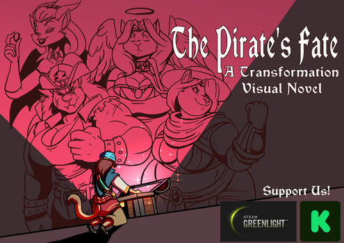 The Pirate's Fate - Kickstarter Announcement by Mytransformations