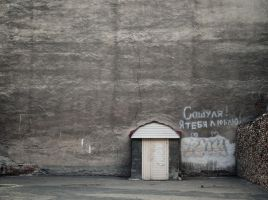 love letters grey walls by klopmaster
