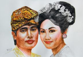 Ms Agung and her husband by Hendrugs46