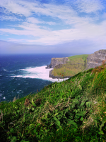 Cliffs of Moher III by morlockiness