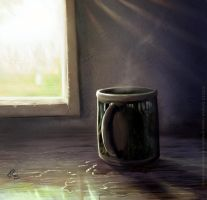 Coffee in the afternoon by Griatch-art