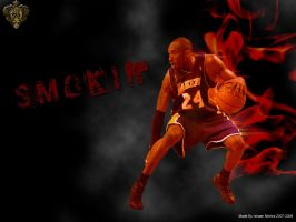 Kobe Flamin wallpaper by Angelmaker666