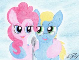 James and Pinkie Pie by TheChrisPony