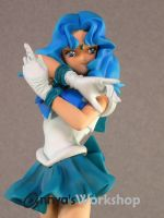 Sailor Neptune close up by annya12345