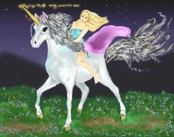 The Night Ride Of Melian of The Mists by Jenny42
