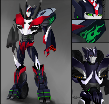 TFP OC Khan (version 2.0 ) by Schwarz-one