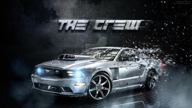 The Crew Game Wallpaper - Ford by hakeryk2