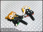 Thor and Loki Dust Plugs by GrandmaThunderpants