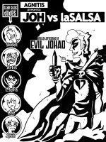 Joh vs laSALSA comic COVER by TheDeathGirl