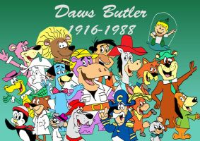 Daws Butler tribute by raggyrabbit94