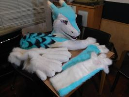 Full look of the Sergal partial by Dingz
