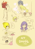 Adventure Time doodles by oNarissa