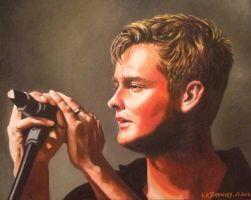 Tom Chaplin on stage by Someone-Else79