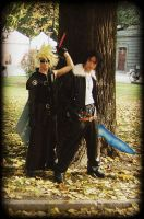 Squall and Cloud by Sommum