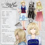 Vienna - Character Card by Noire-Ighaan