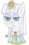Egyptian Princess Maud Pie by Bsalg93
