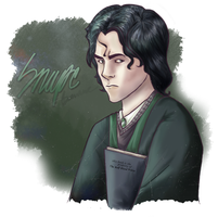 Snape young by xXMatthieu14Xx