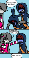 A Chat With Dem Twins 2 by nautical-anchors