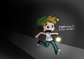 Pewdiepie lost Stephano by xXBloody-MagicXx