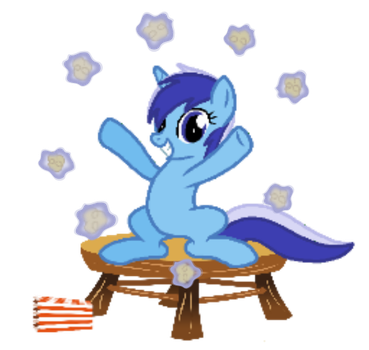 Popcorn and Ponies by Secret-Cheesecake