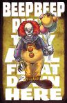 Quote Series 4 Pennywise by skulljammer