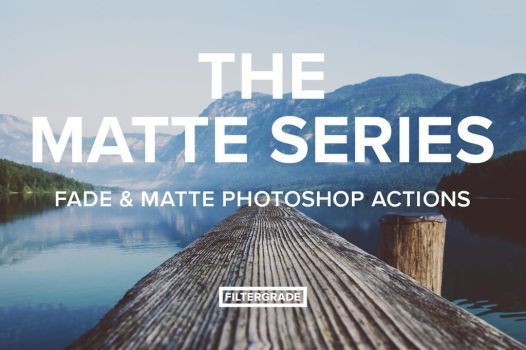 The Matte Series Photoshop Actions by filtergrade