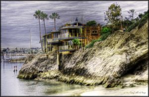 HDR House By The Bay by DirtyLittleDevil